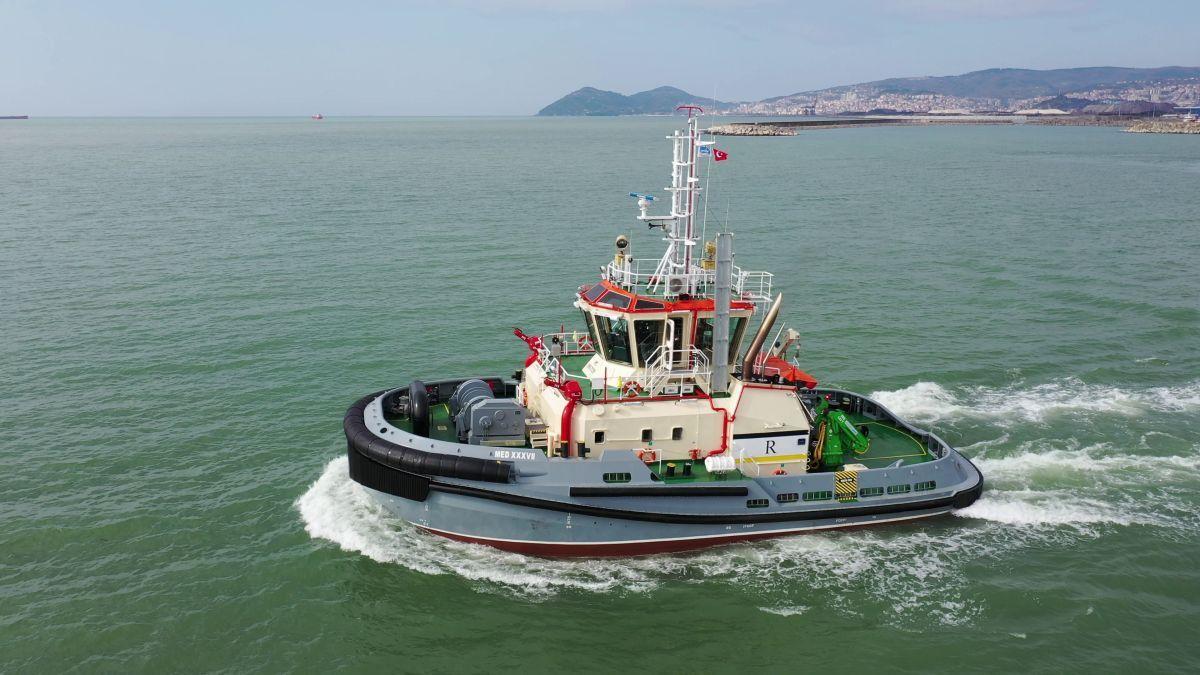 Europe is a major market for tug newbuild deliveries (source: Med Marine)