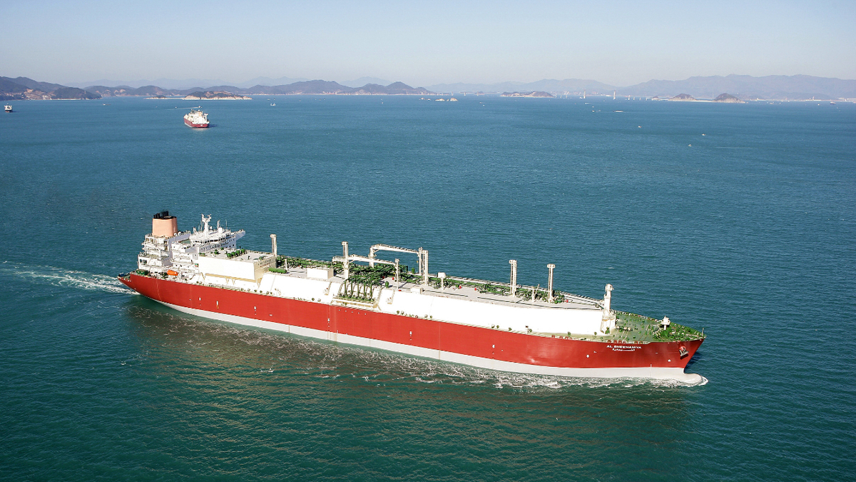 The reliquefaction systems of 2009-built Q-Flex LNG carrier Al Sheehaniya will be covered by remote support (source: Wärtsilä)