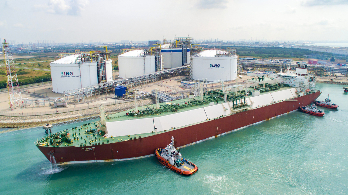 BP will deliver LNG from its portfolio to Pavilion Energy at the SLNG Terminal (source: Pavilion Energy)