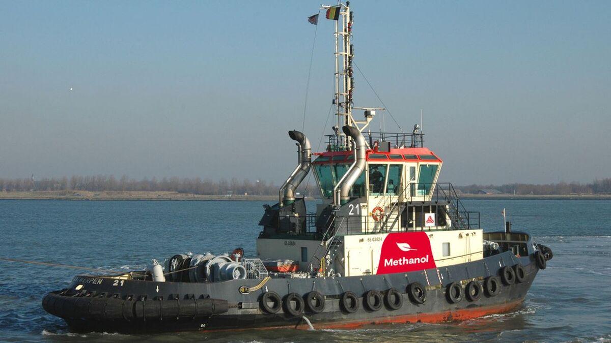 Port of Antwerp's methanol fuelled tug is part of the methatug project (source: Port of Antwerp)
