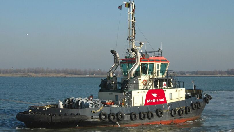 Green light for first methanol-powered tugboat