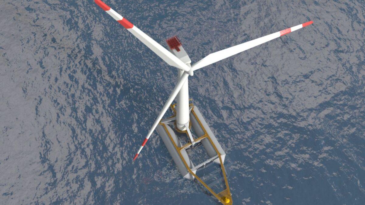 Saitec starts work on floating windfarm with 15-MW turbines