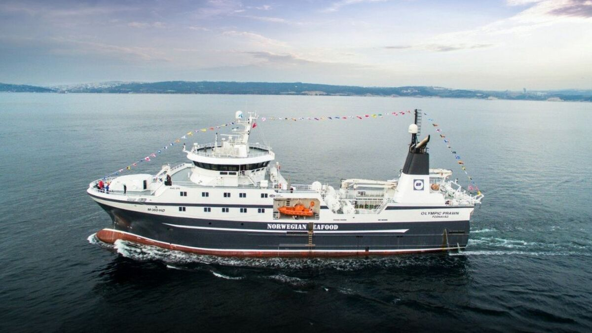ScanReach will install IoT on Olympic Prawn trawler for Olympic Seafood (source: Cemre)