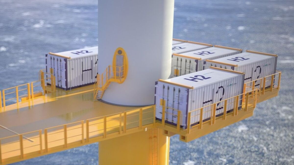 Siemens Gamesa and Siemens Energy have joined forces to integrate an electrolyser into an offshore wind turbine
