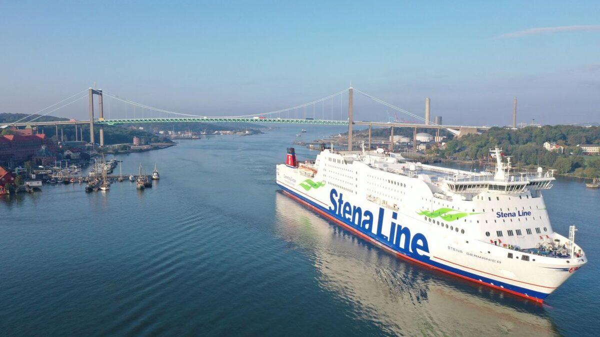 Stena Line uses recycled methanol to power Stena Germanica