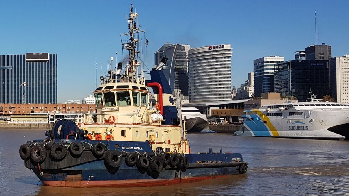 Svitzer operations in Argentina. Owner has ordered four new tugs in South America (source: Svitzer)