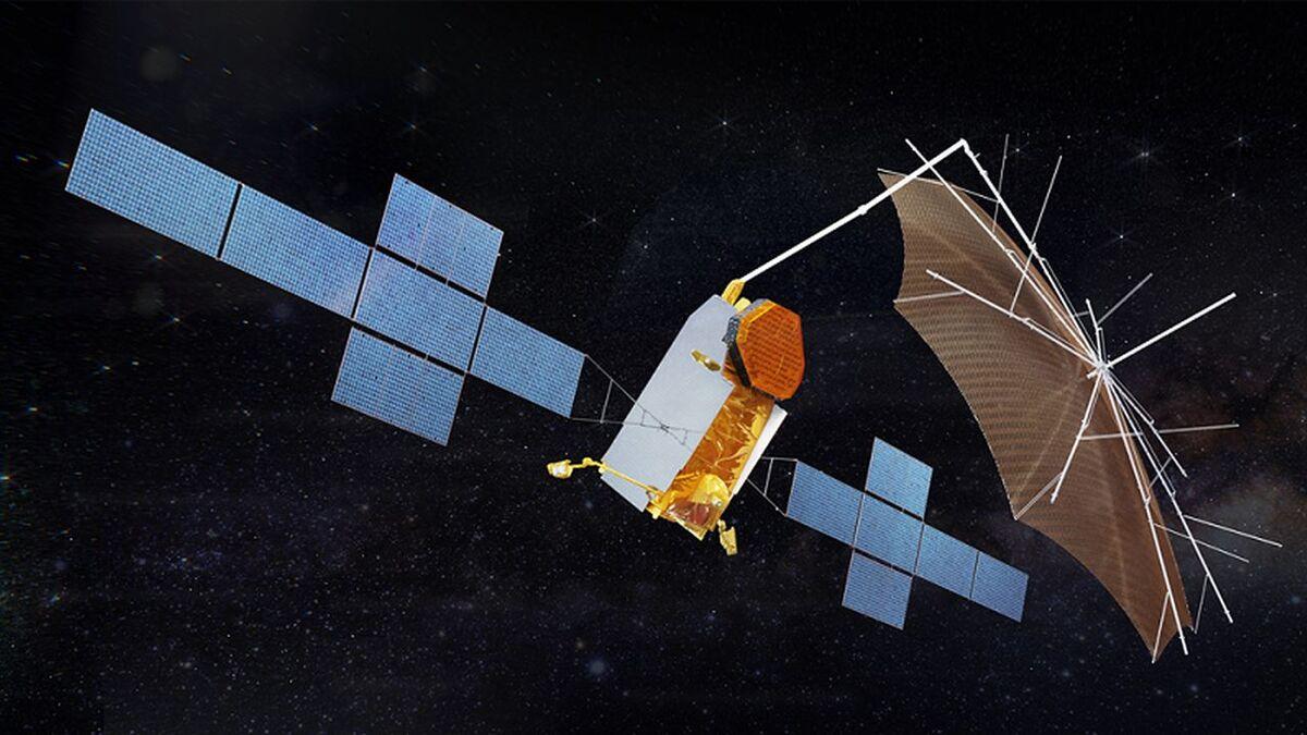 Airbus design for Yahsat Thuraya 4-NGS satellite (source: Airbus)