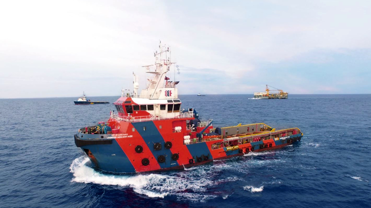 The AHTS vessel Uniwise Advantage is part of an MEO joint venture fleet in Thailand (source: MEO)