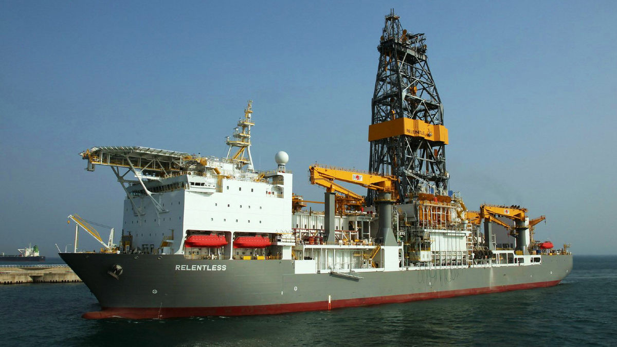 Valaris was awarded a three-year contract for the drill ship Valaris DS-18 (Relentless) that will keep it busy in the Gulf of Mexico until 2025 (source: Valaris)