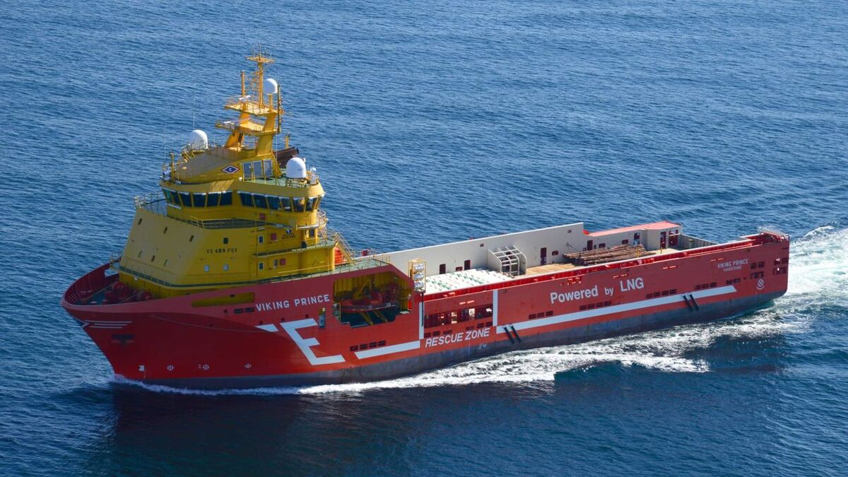 Eidesvik Offshore PSV Viking Prince will work for Aker BP in Norway in August (source: Eidesvik)
