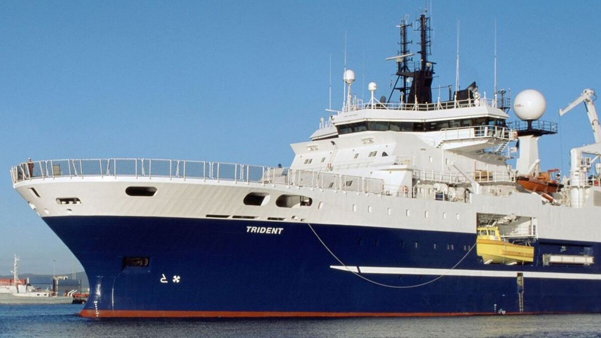 Shearwater sold Western Trident seismic survey vessel for recycling (source: Shearwater)