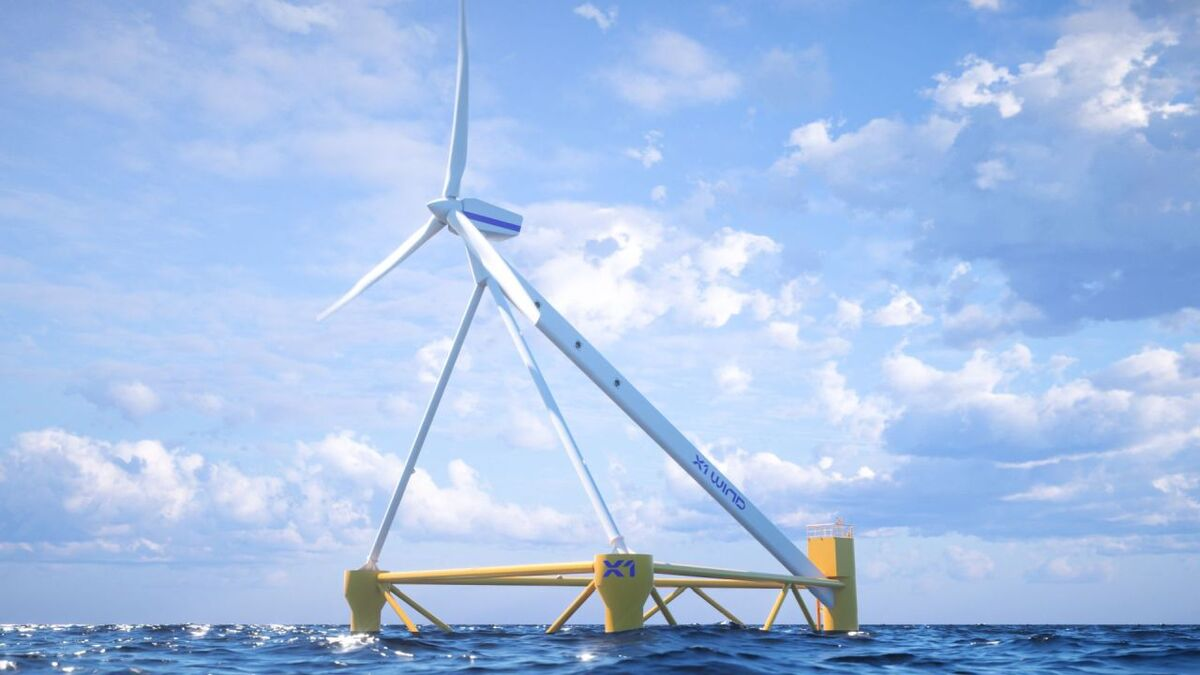X1 Wind secures grant to fast-track commercial-scale PivotBuoy floating wind unit