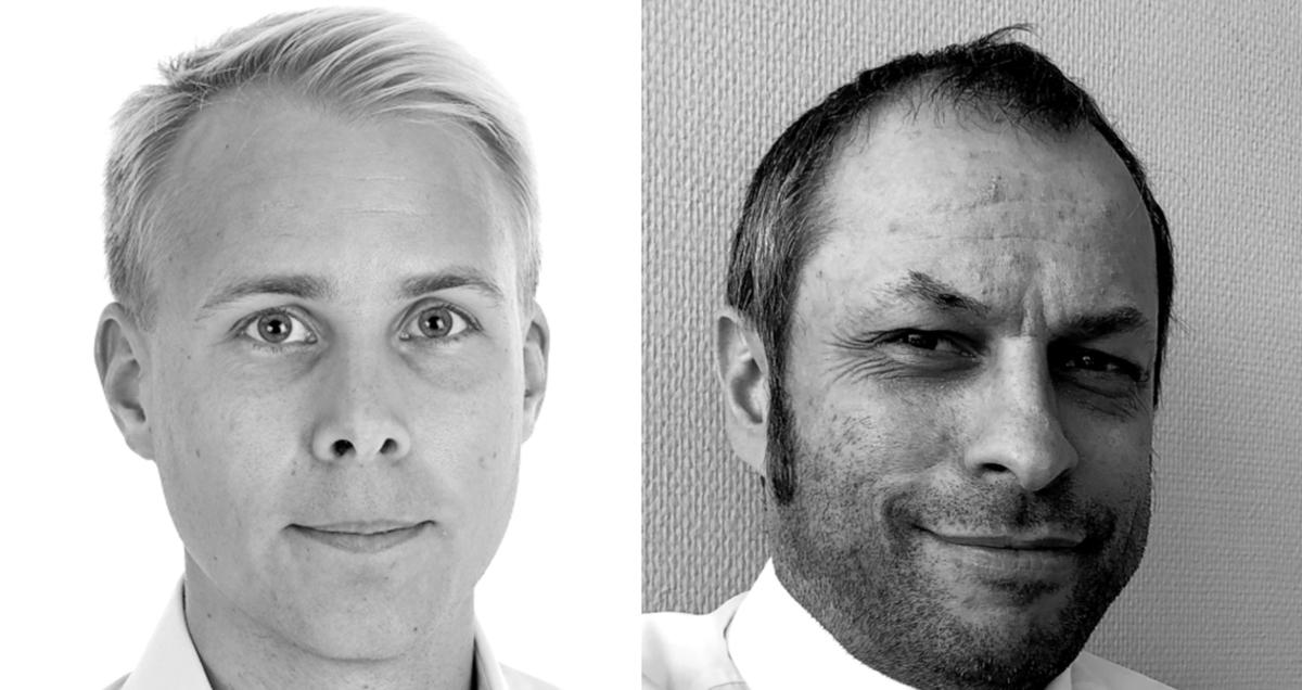 Authors (left to right): Kongsberg Maritime senior concept engineer Robert Eriksson and business concepts vice president Paul Fredrik Gjerpe (source: Kongsberg Maritime)
