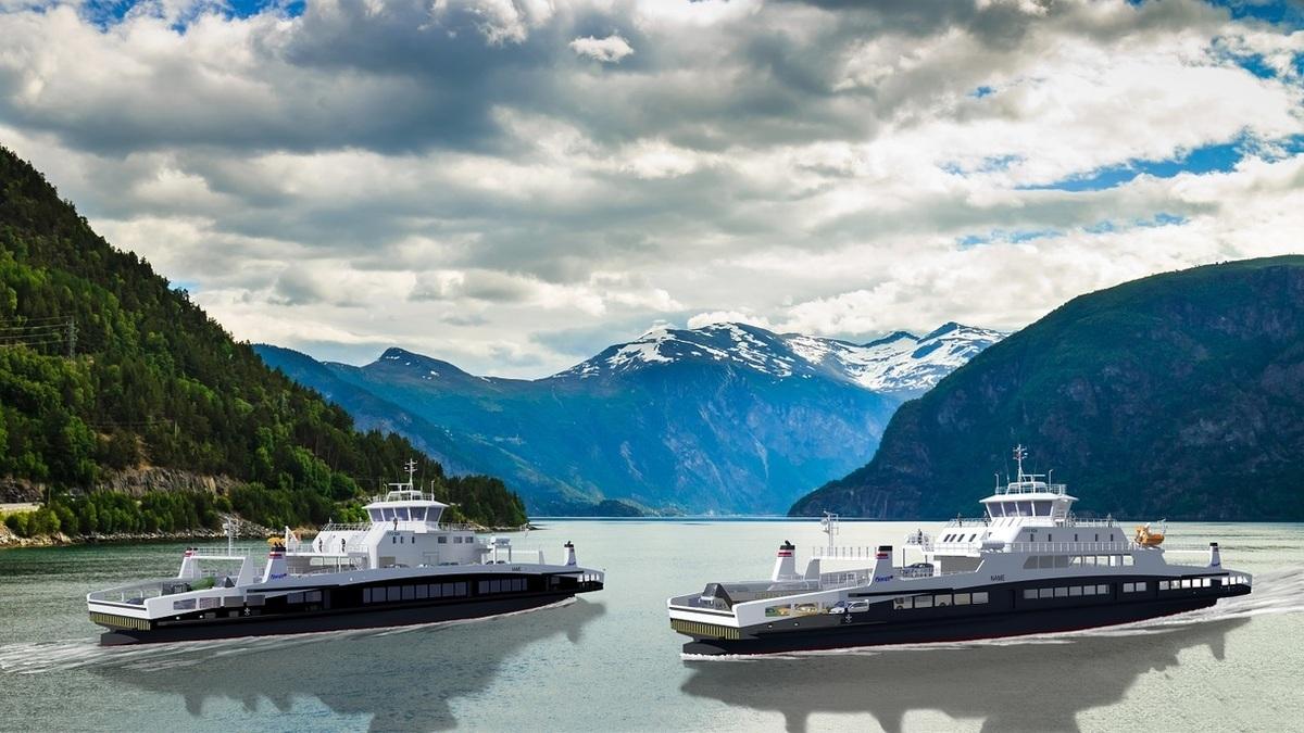 A rendering of both ferries (Source: HAV Designs)
