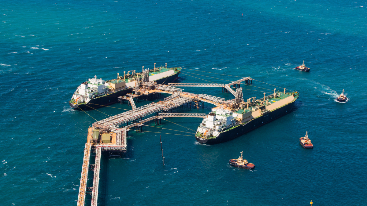 Gorgon LNG, with a 15.6 mta capacity, is one of Australia's largest single sources of LNG (source: Chevron)