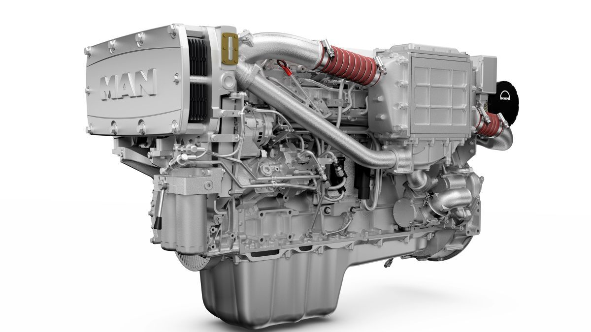 Each of the MAN D2676 LE425 engines will have an output of 478 kW (source: MAN Engines)