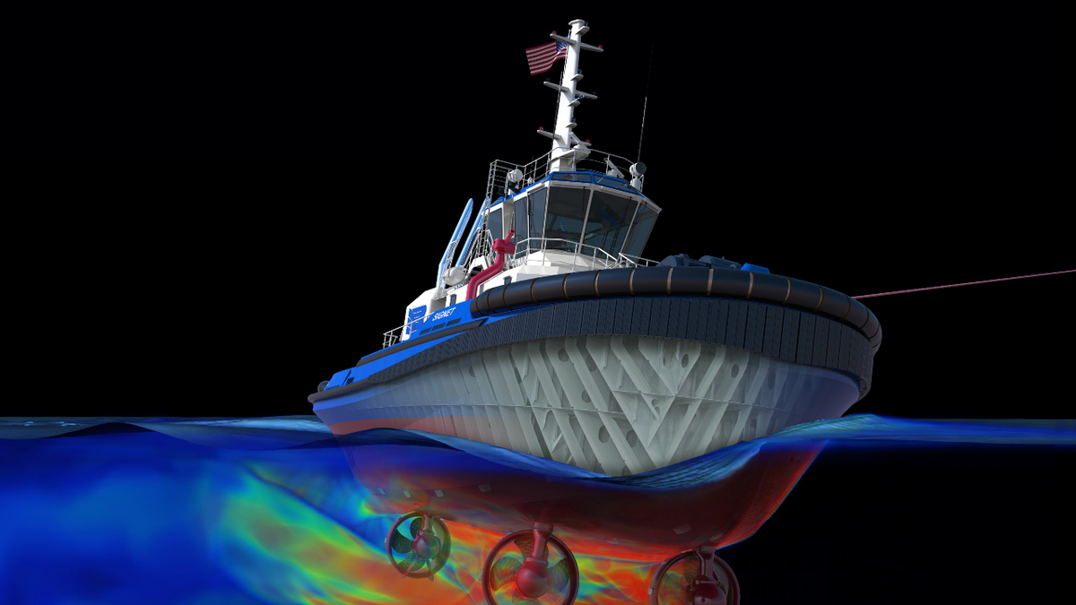 US first: 3D process delivers commercial vessel