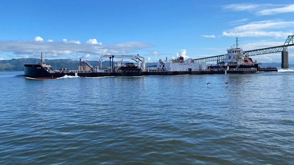 Aurora/Qamun ATB will transport Crowley Fuels in Alaska (source: Crowley)