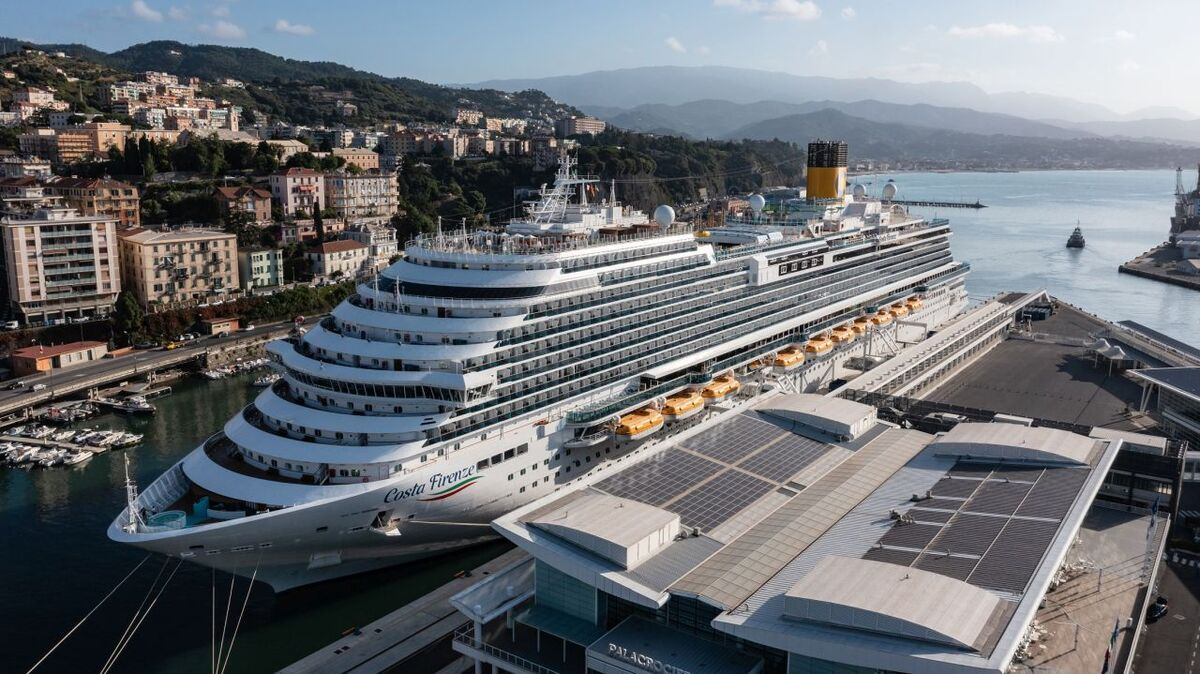 Costa Firenze in Savona (source: Costa Cruises)