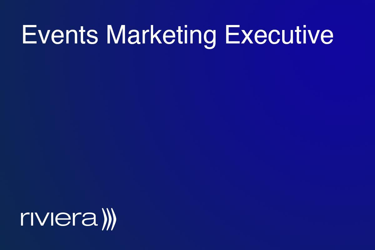 Events Marketing Executive
