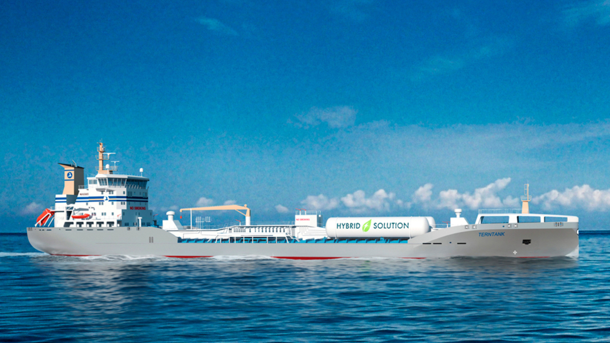 Terntank and Gothenburg port partner on gas-battery hybrid tankers project