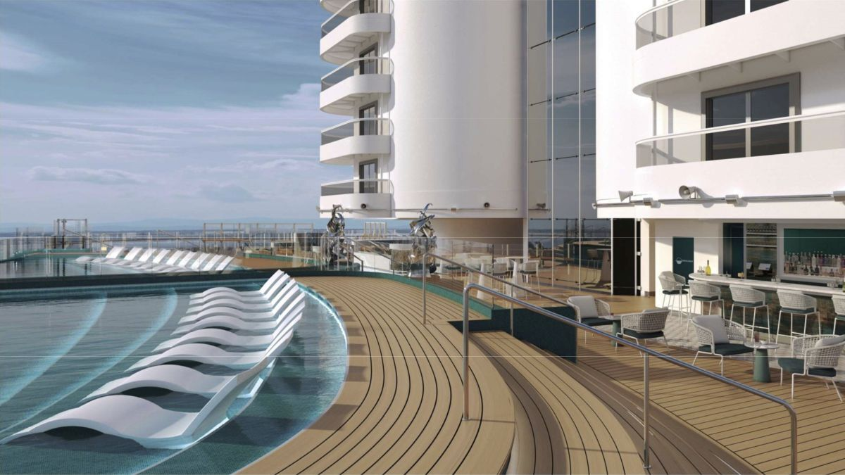 MSC Seashore: pushing the boundaries of the Seaside class