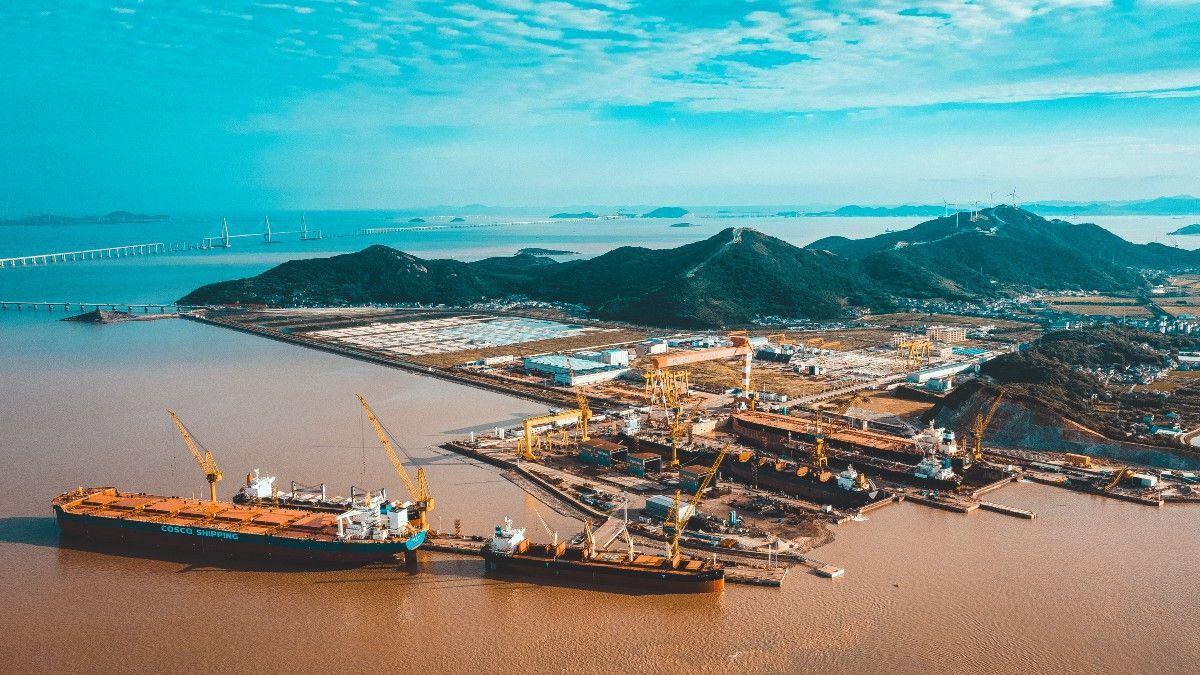 Newport Shipping's network includes PaxOcean Zhoushan Shipyard in China (source: Newport Shipping)