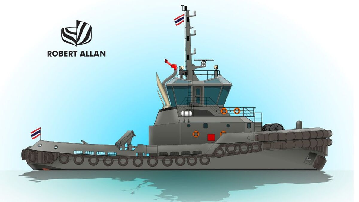 ASIMAR will build a tug for Royal Thai Navy to RAmparts-3200-SD design (source: RAL)