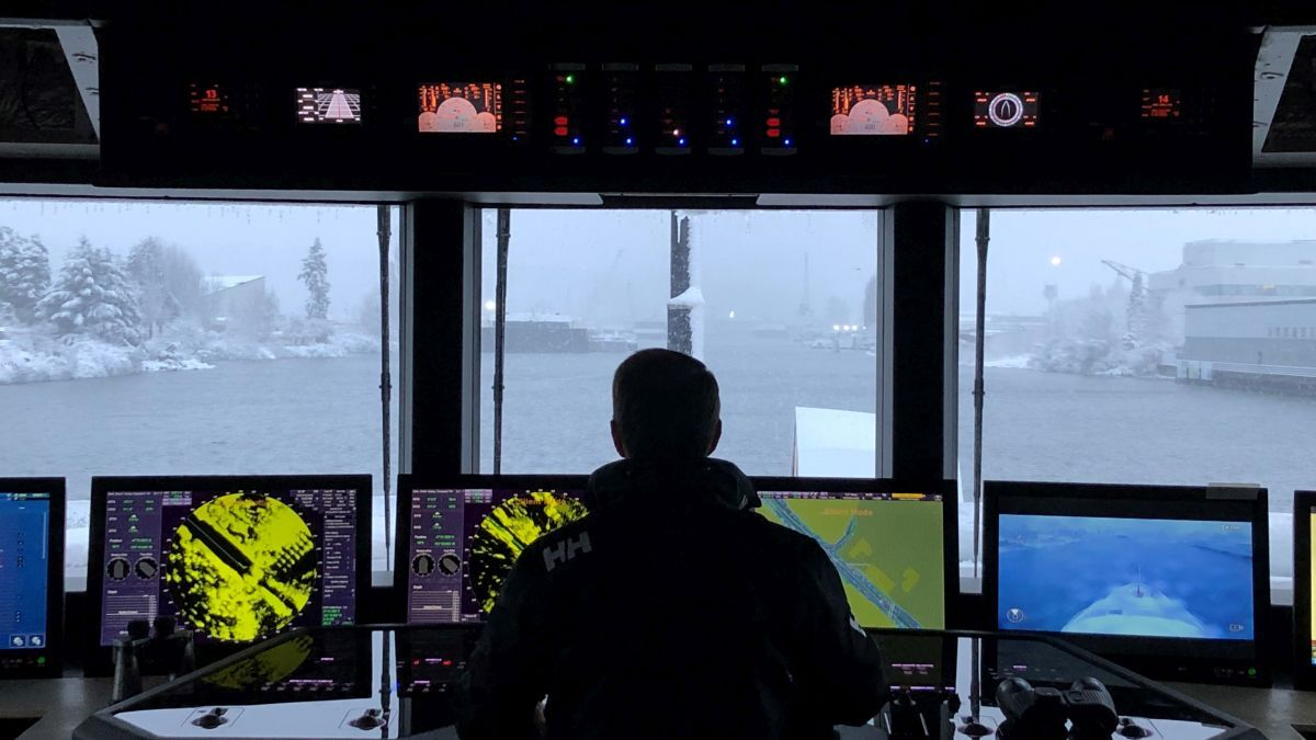 Sperry Marine integrated bridge systems as connected ECDIS (source: Sperry)