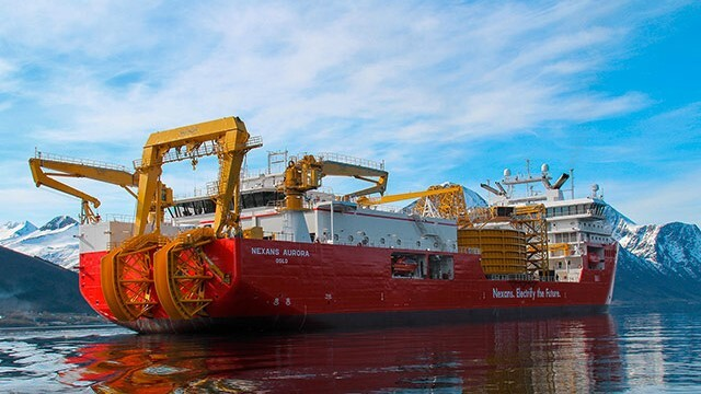 Nexans welcomes offshore energy future with versatile cable layer