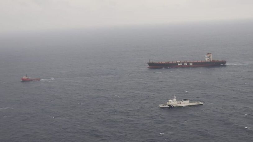 Salvage update: ferry capsize, ship fires and emergency towage