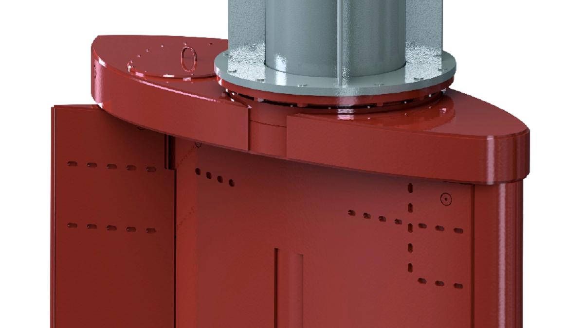 The Van der Velden BARKE high-lift rudder design enables crabbing at low speeds (source: DMC)