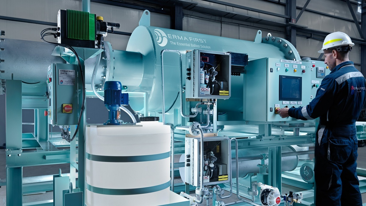 Ballast water treatment: Why do most owners choose electro-chlorination?