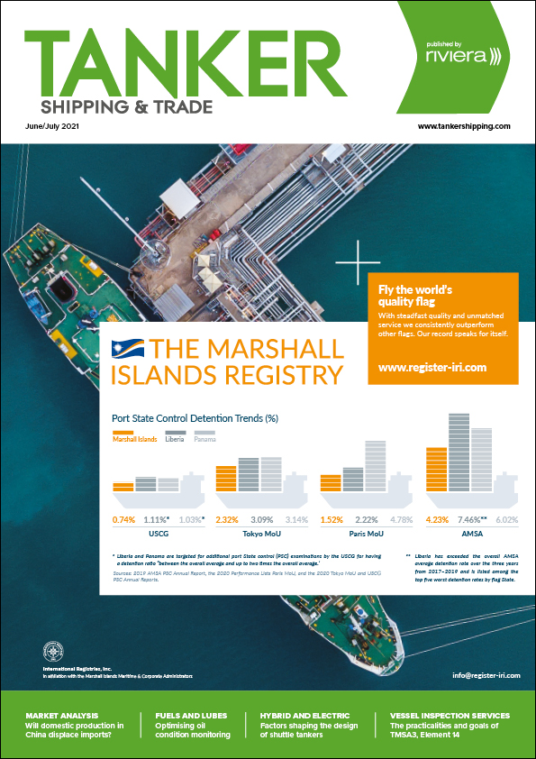 Tanker Shipping & Trade June/July 2021