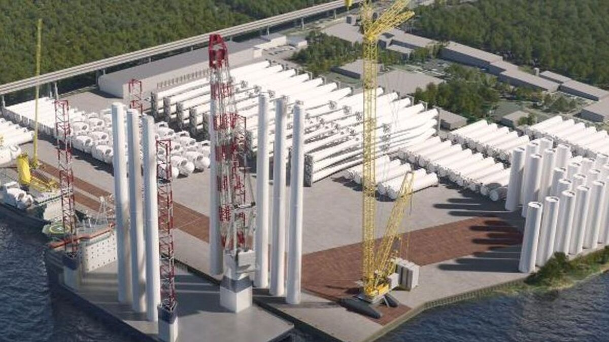 Offshore wind staging facility on Staten Island could be operational by 2025