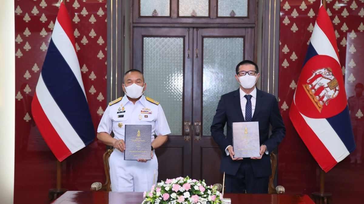 ASIMAR signs a contract to build a tug for the Royal Thai Navy (source: RAL)
