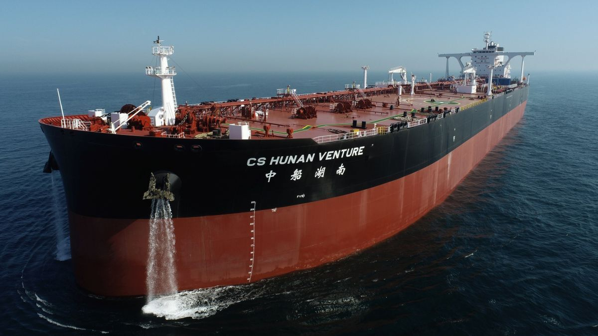 Chinese yard launches high-efficiency VLCC