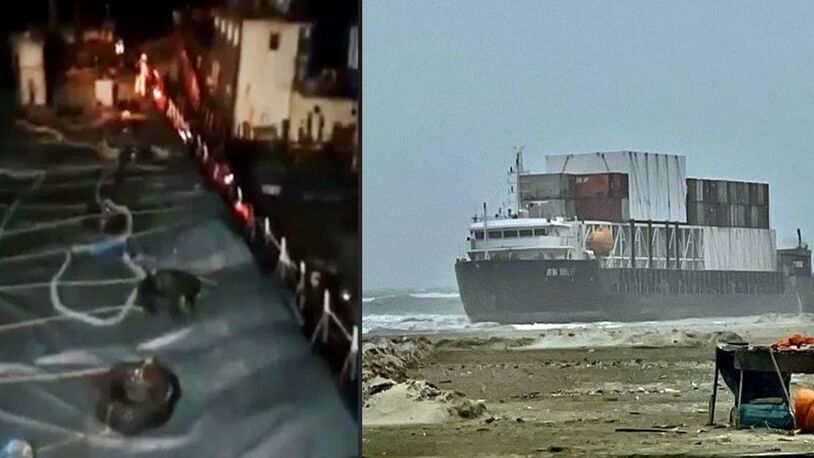 Salvage update: ships sink, seafarers missing and vessel grounded