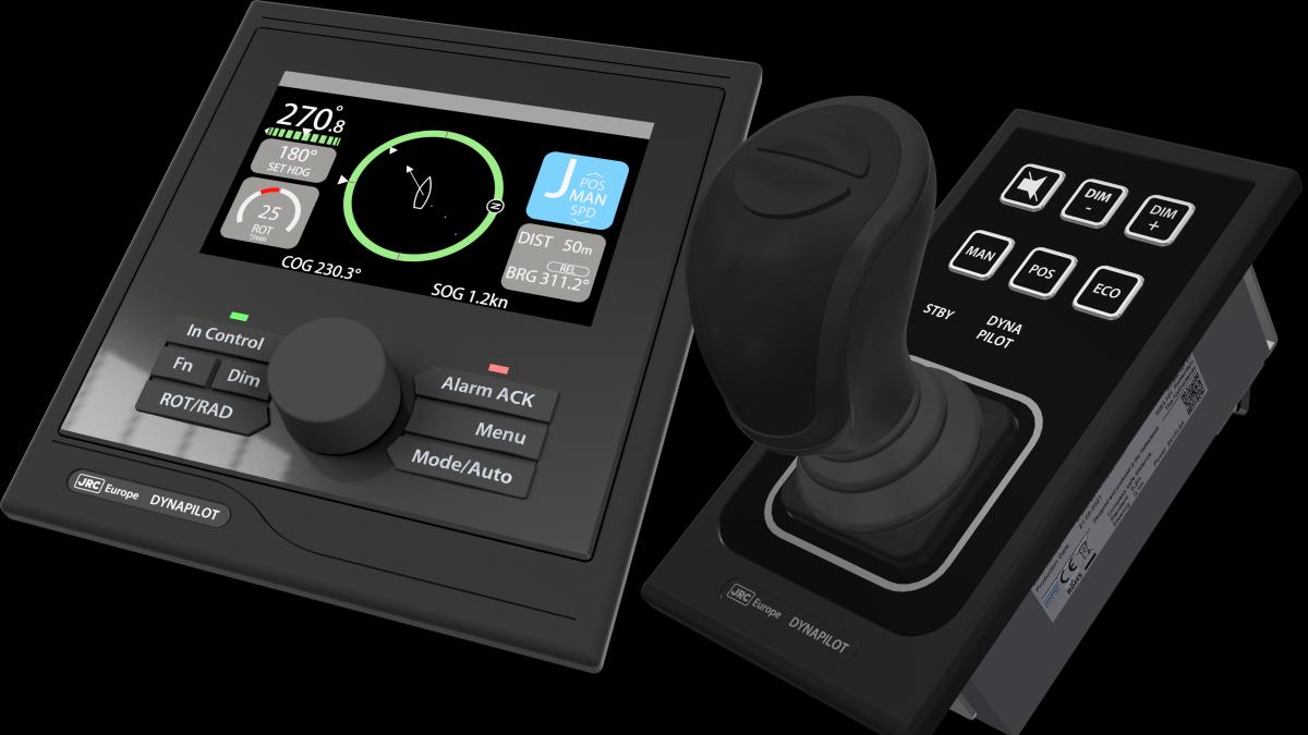 Dynapilot combines autopilot, joystick control and DP functionality (source: JRC)
