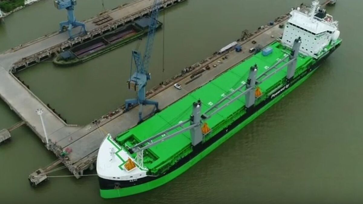 ESL Shipping's new bulk carriers are involved in virtual arrival in Sweden (source: ESL)