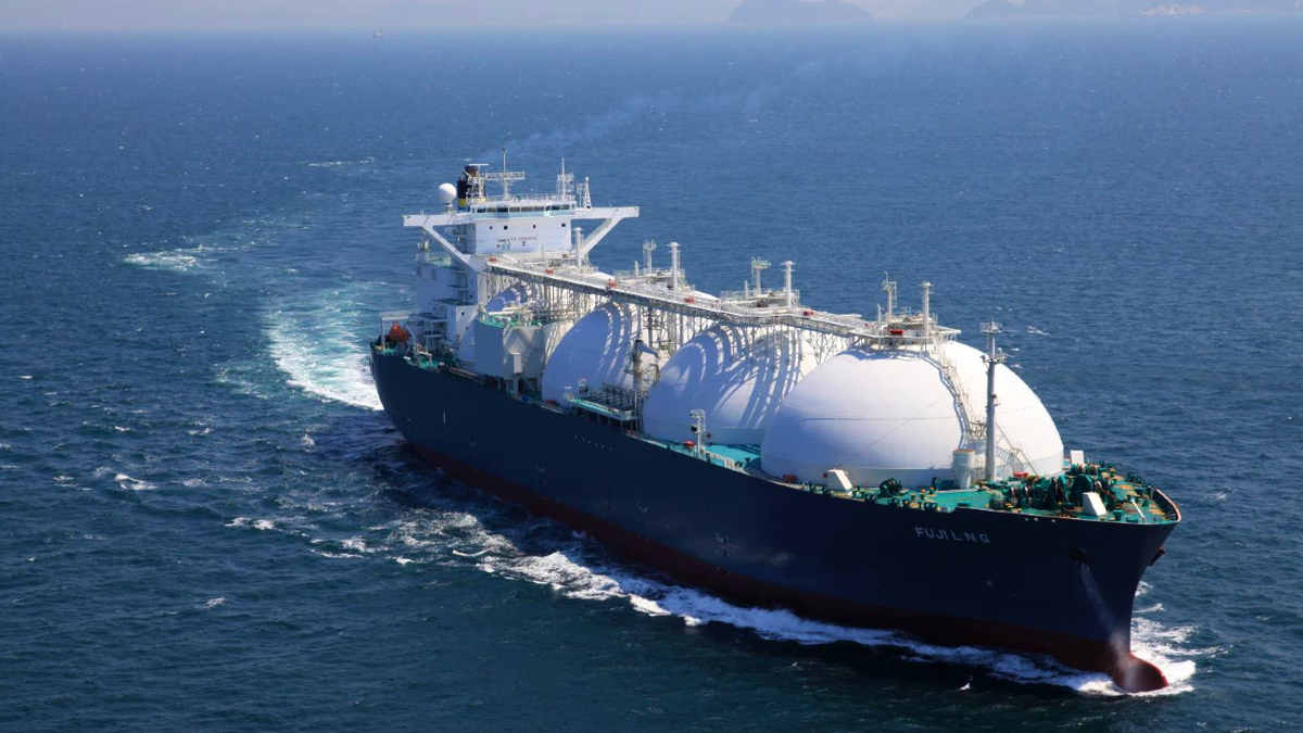 2004-built Fuji LNG, managed by TMS Cardiff Gas, carried the first cargo in January under a long-term SPA between CPC Corp and Cheniere Energy (source: CPC)