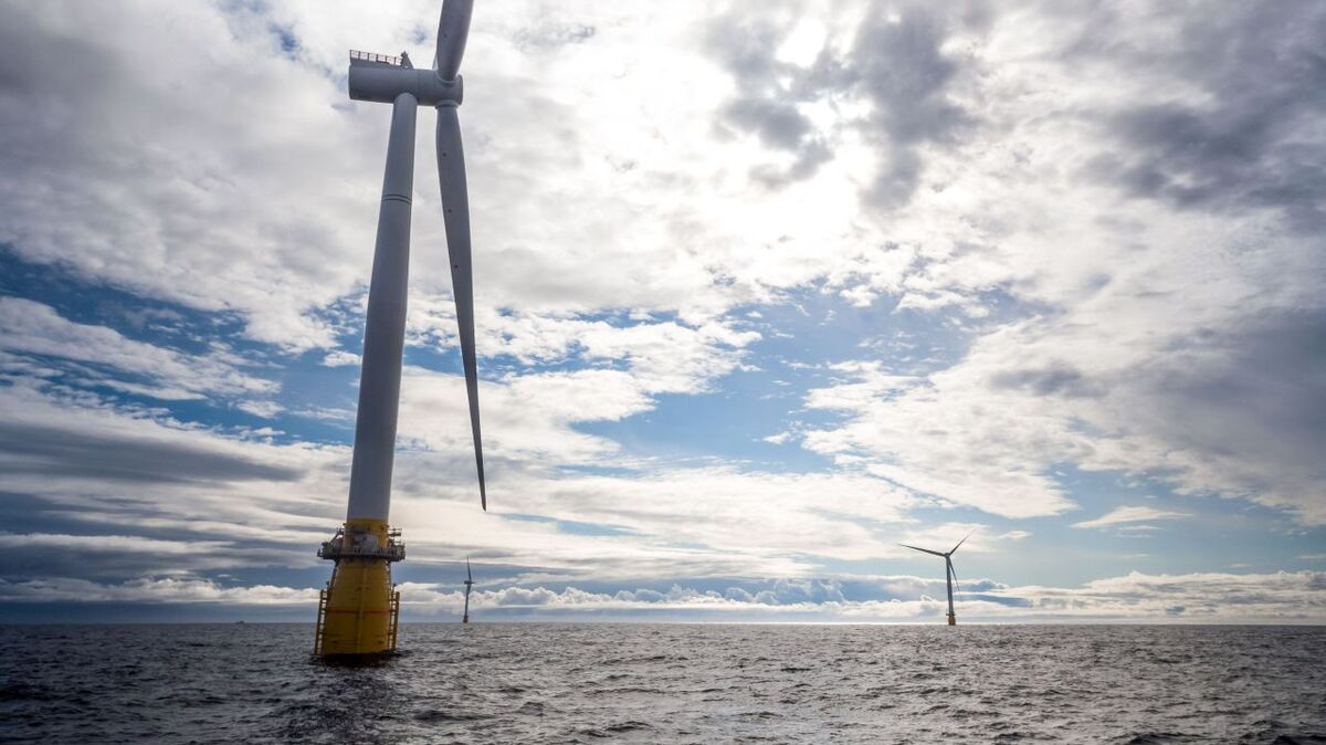 Equinor developed the world's first floating windfarm, Hywind Scotland and is constructing Hywind Tampen (source: Equinor/Øyvind Gravås)