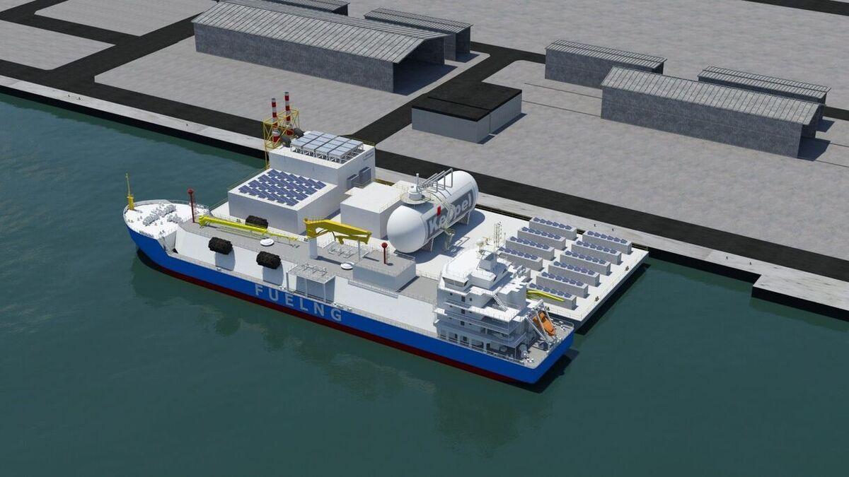 Keppel's Floating Living Lab (source: © Keppel Offshore & Marine)