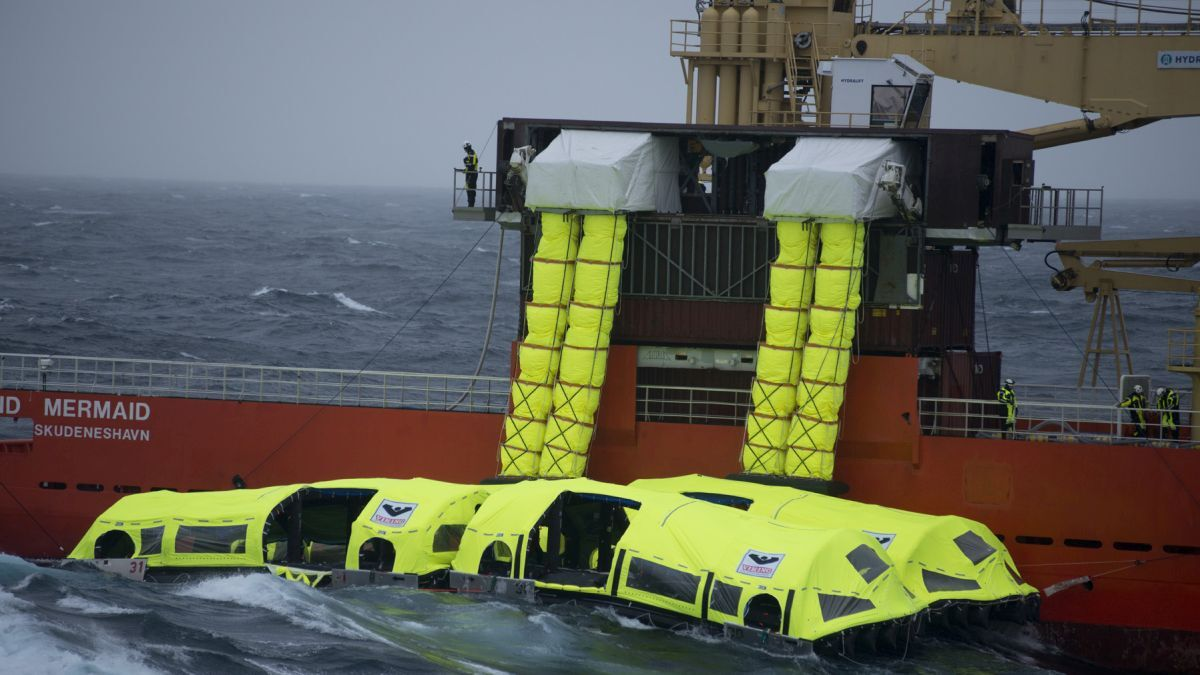 Green and innovative lifesaving solutions for passenger ships