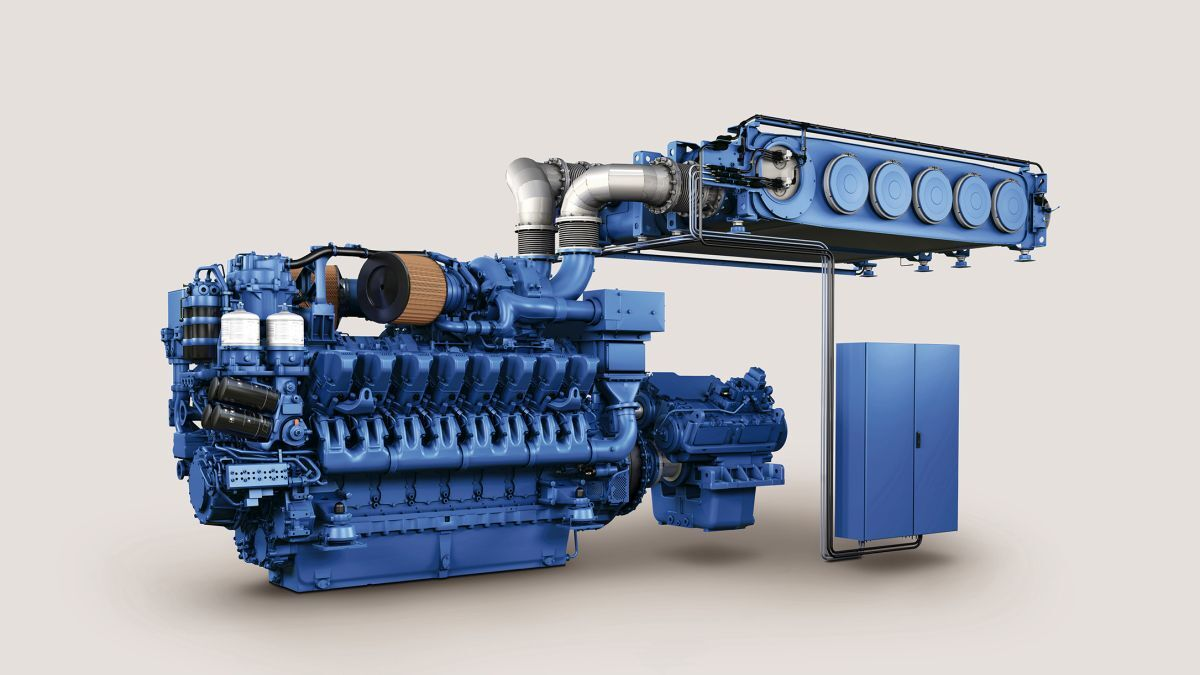 MTU engines meet US Tier 4 and IMO Tier III emissions requirements (source: MTU)