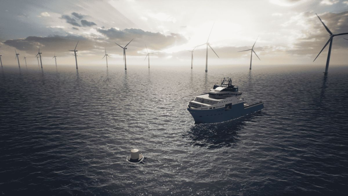 Maersk Supply Service and Ørsted plan to test their charging system later this year