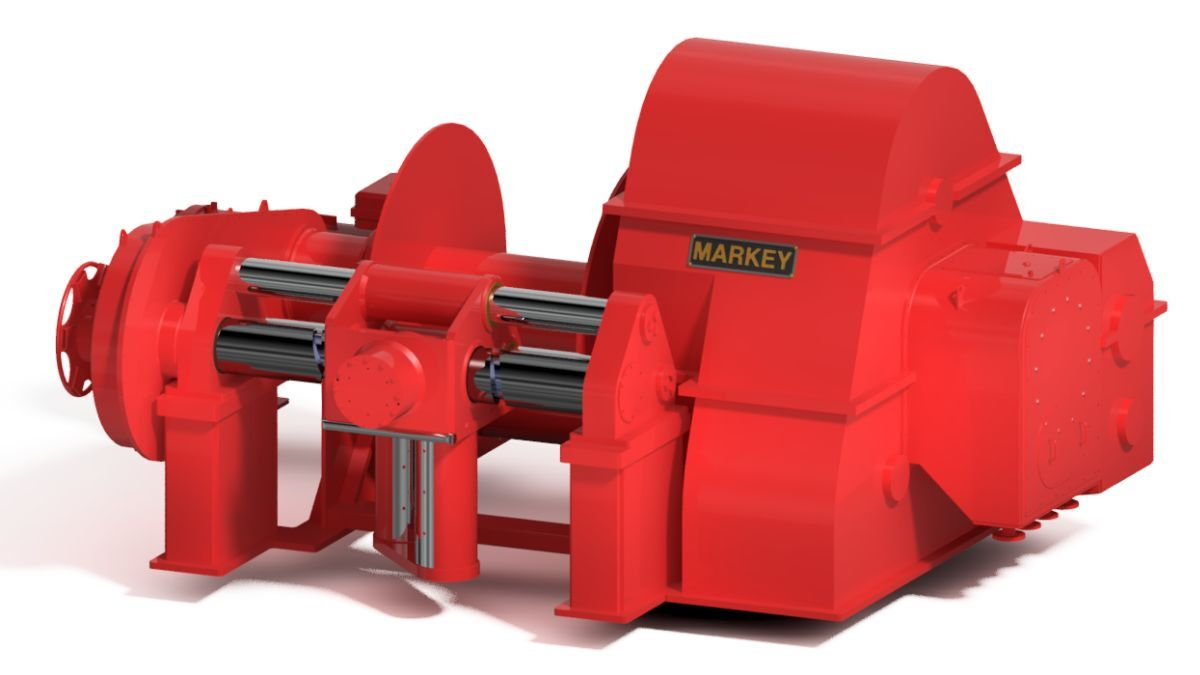 Markey DESF-52UL electric escort winches will be installed on HaiSea tugs (source: Markey)