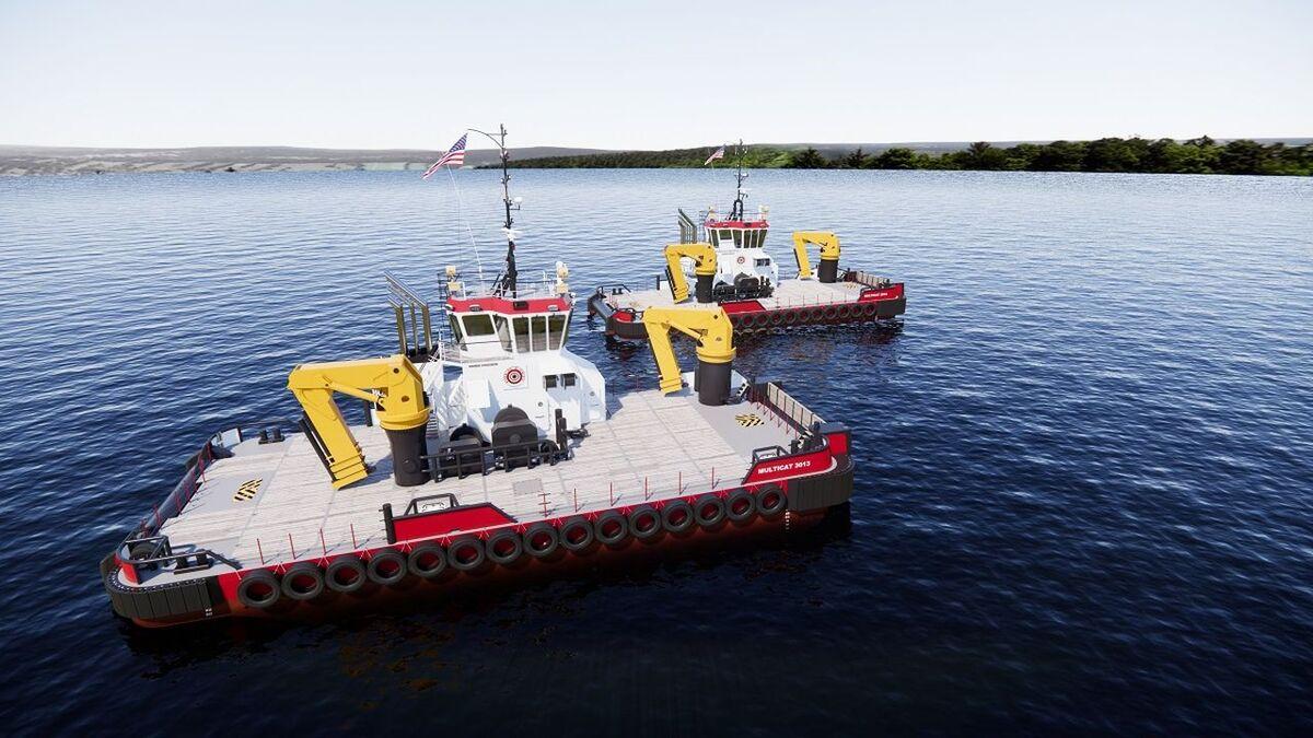 Conrad will built two Multi Cats 3013 to a Damen design for Great Lakes (source: Damen)