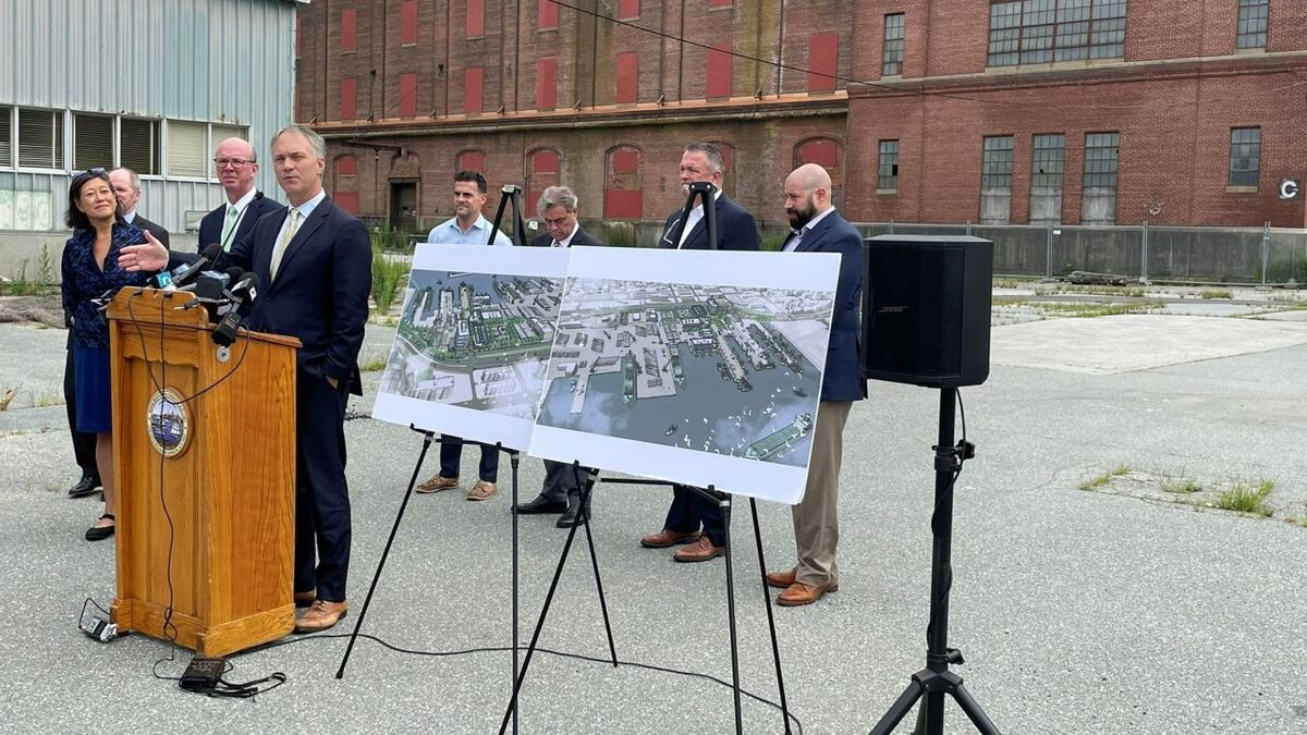 Redeveloped Port of New Bedford to become a staging facility for offshore wind