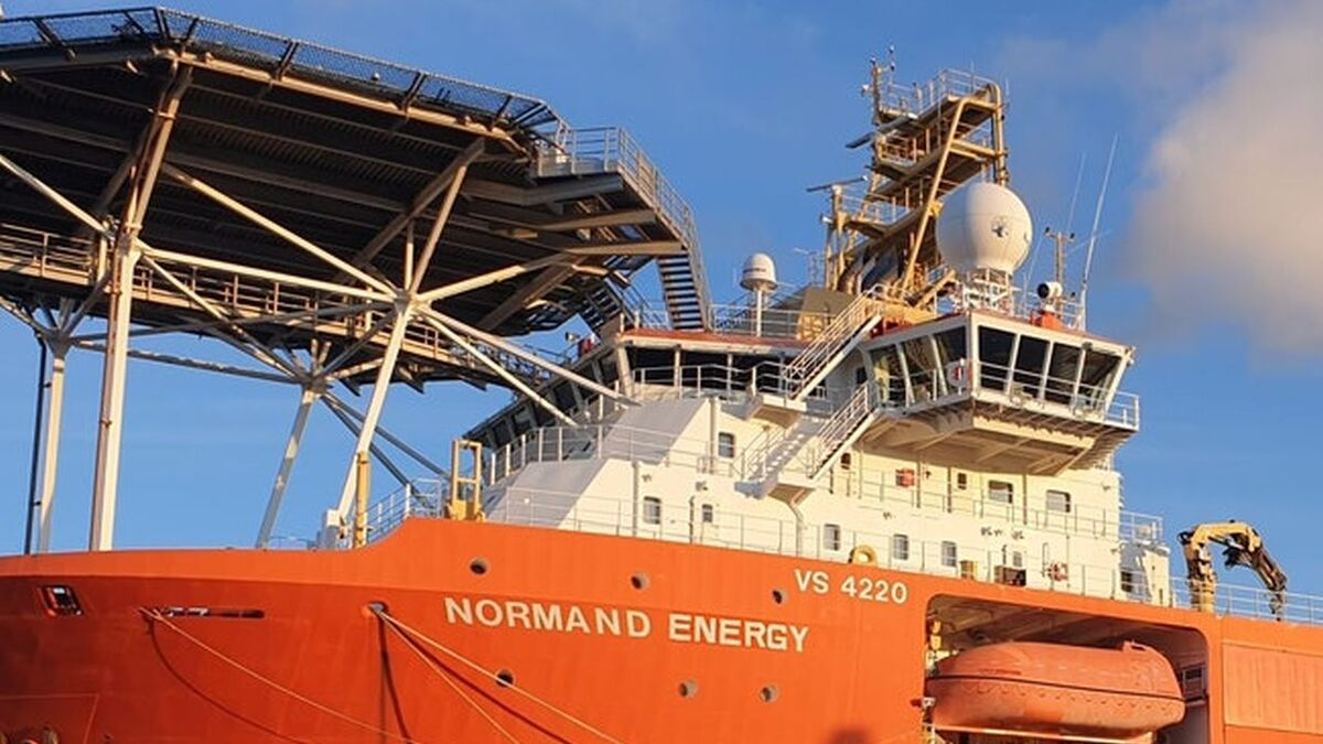 Normand Energy CSV has a 250-tonne active heave compensated crane (source: Solstad)